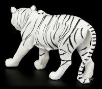 White Tiger Figurine - Walking Medium