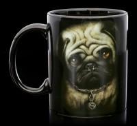 Hunde Tassen - Pug Life - 2er Set