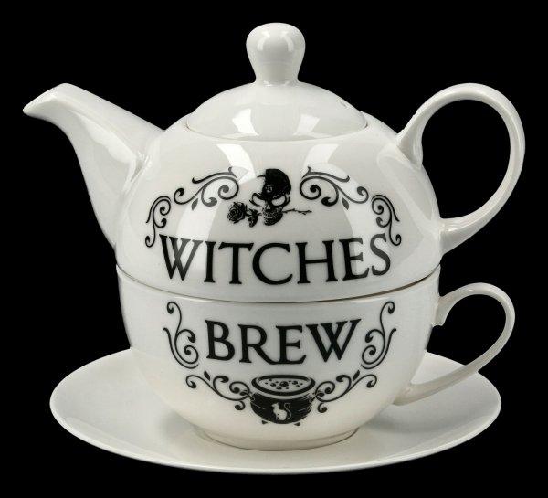 Teekannen Set - Witches Brew