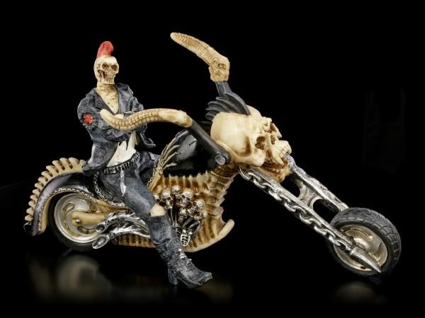 Skelett Biker - Hell for Leather - large