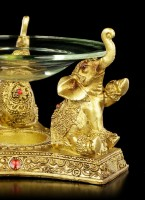 Aroma Burner with Indian Elephants