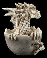 Skelett Drachen Figur schlüpft