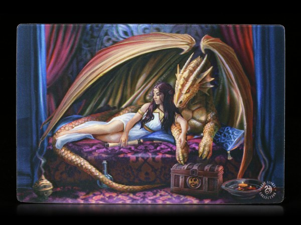 3D Postkarte mit Drache - Inner Sanctum