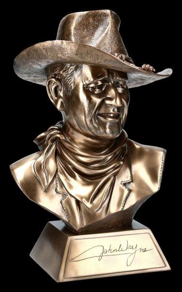 John Wayne Bust with Certificate