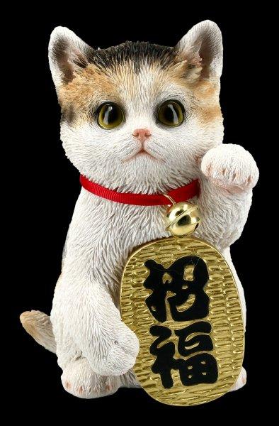 Lucky Cat Figurine - Maneki Neko