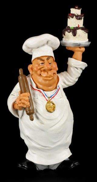 Head Chef - Funny Job Figurine