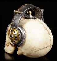 Steampunk Skull - Techno Talk small