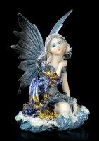 Water Fairy Figurine - Idrica with little Dragon