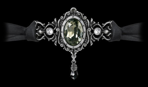 Alchemy Gothic Choker - The St Petersburg Tear