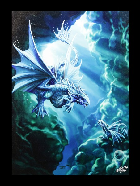 Large Canvas - Age of Dragons - Water Dragon