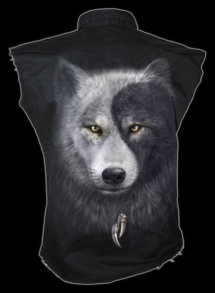 Wolf Chi - Fantasy Sleeveless Worker Shirt