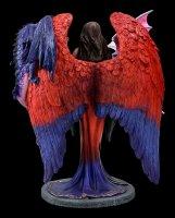 Engel Figur mit Drachen - Dragon Mistress