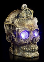 Steampunk Skull with LED - Bright Eyes