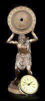 Atlas Figur mit Uhr