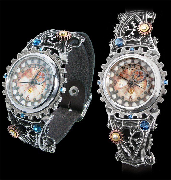 Alchemy Steampunk Wrist Watch