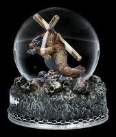 Powerwolf Schneekugel