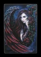 3D Postkarte mit Engel - Daemon La Rosa