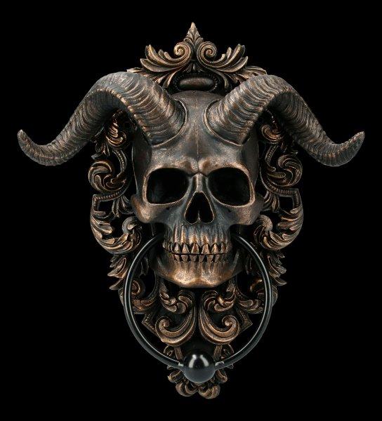 Door Knocker - Diabolus Skull
