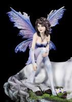 Fairy Figurine - Amira sits on Unicorn