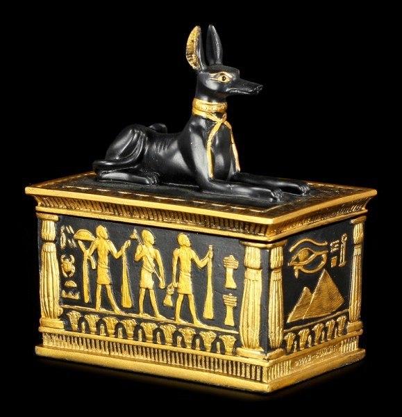 Ägyptische Schatulle - Anubis