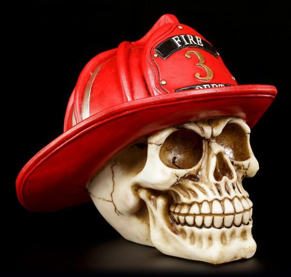 Skull - Firefighter - Fire Department
