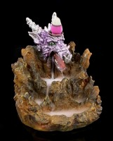 Backflow Incense Cone Holder - Amethysts Domain