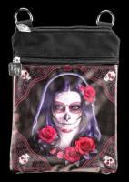Kleine Schultertasche Day of the Dead - Sugar Skull