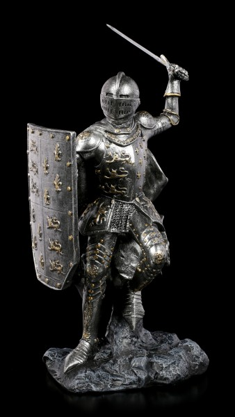 Knight Figurine - Sword and Shield in Attack