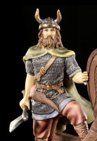 Viking Figurine - Warrior on Ship