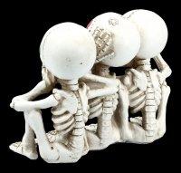 Skelett Figuren Calaveras - Nichts Böses