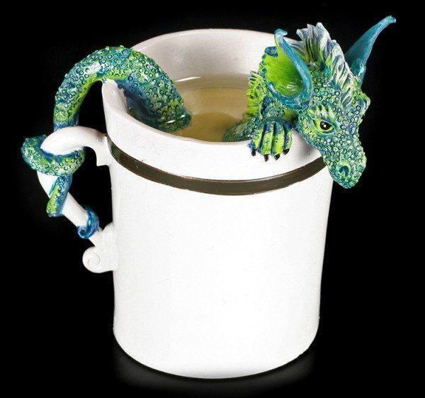 Drachen Figur in Tasse - Good Morning Dragon