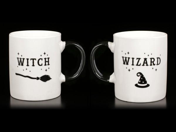 Tassen Set - Witch and Wizard