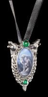 Halskette mit Wolf - Protector