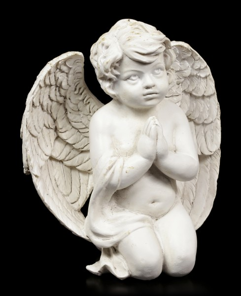 Angel Figurine - Cherub praying on Knees