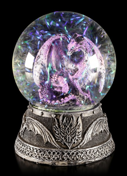 Water Globe - Dragon Hoarfrost