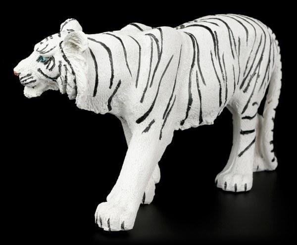 Weiße Tiger Figur - Laufend Mittel