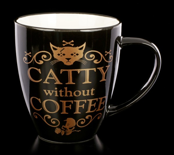 Alchemy Gothic Tasse - Catty Without Coffee