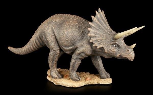 Dinosaur Figurine - Triceratops colored