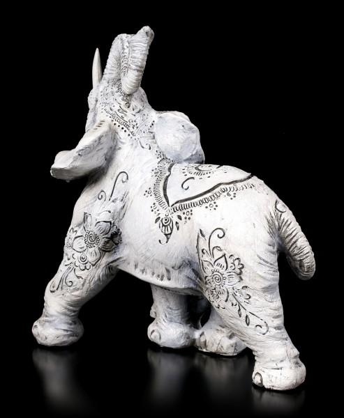 Elephant Figurines - Henna Happiness