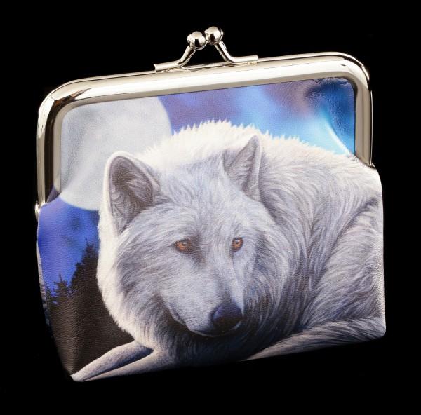 Geldbeutel mit Wolf - Guardian of the North