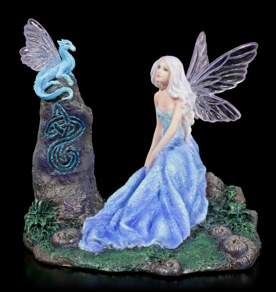 Fairy Figurine - Luminescent with little Dragon