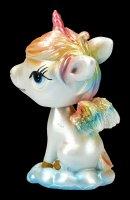 Unicorn Bobble Horn Figurine