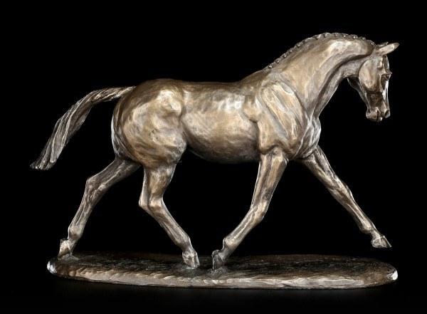 Pferde Figur - Trotting Warmblood - by Harriet Glen