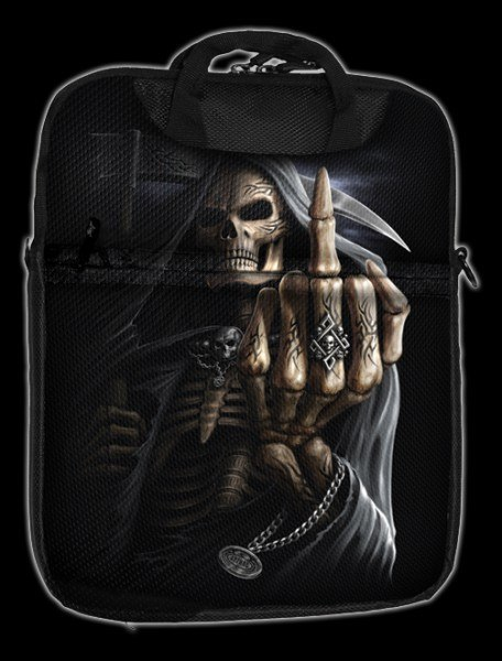 Bone Finger - Spiral Tablet Shoulder Bag