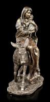 Maria Figur mit Jesuskind auf Esel