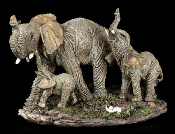 Elefanten Familie Figur - Lass uns Wandern