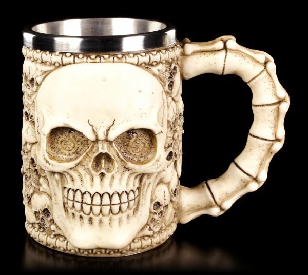 Totenkopf Krug - Knochensammler