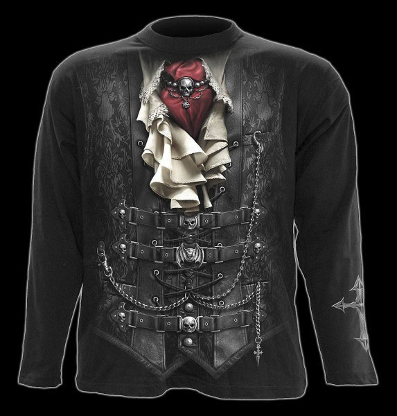 Langarmshirt Gothic - Waisted