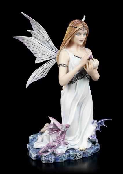 Elfen Figur - Larisa mit Drachen Babys