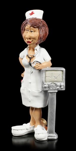 Funny Job Figurine - Cardiology Nurse